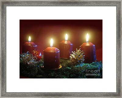 Christmas Is Coming 1 Framed Print