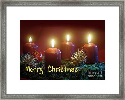 Christmas Is Coming 2 Framed Print