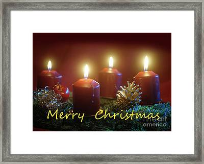 Christmas Is Coming 3 Framed Print