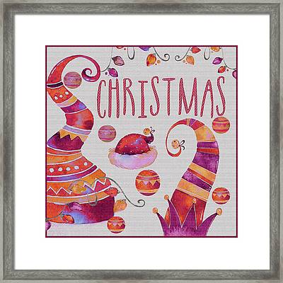 Framed Print featuring the photograph Christmas by Jeff Burgess