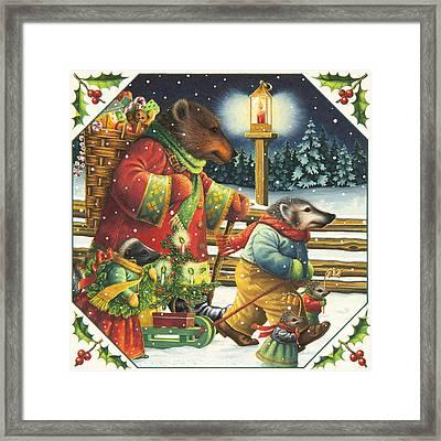 Christmas Journey Framed Print