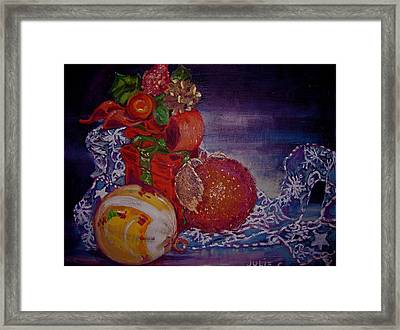 Christmas Framed Print by Julie Todd-Cundiff