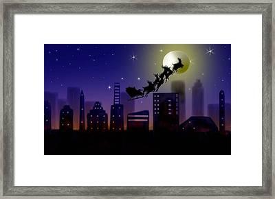 Christmas Landscape IIi Framed Print