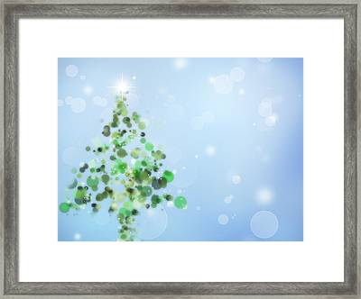 Christmas  Framed Print by Les Cunliffe