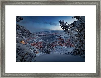 Christmas Light Framed Print