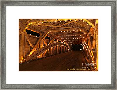 Christmas Luminance Framed Print