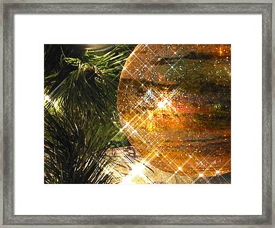 Framed Print featuring the photograph Christmas Magic by Diane Merkle