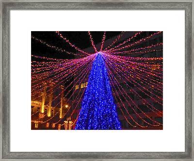 Christmas Market Budapest Framed Print by Joan Carroll