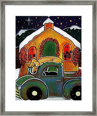 Christmas Mass Framed Print