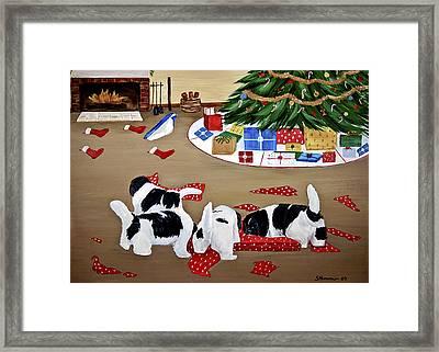 Christmas Mischief Framed Print