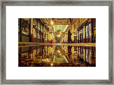 Framed Print featuring the photograph Christmas Mood In November by Quality HDR Photography