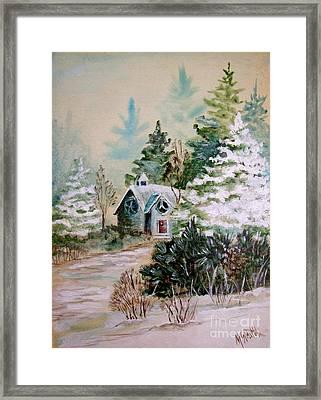 Christmas Morn Framed Print by Marilyn Smith