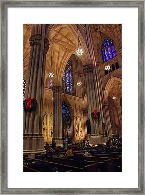 Christmas Prayers Framed Print