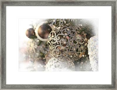 Framed Print featuring the photograph Christmas by Helga Novelli