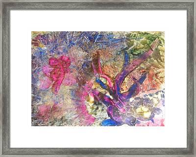 Christmas Ribbons Framed Print by John Vandebrooke