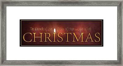 Christmas Framed Print by Robin-Lee Vieira