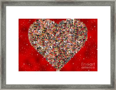 Christmas Sales Pictures Collage Framed Print