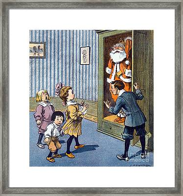 Christmas Secret Revealed, Puck Framed Print by Science Source