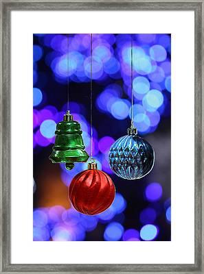 Christmas Sparkle Framed Print