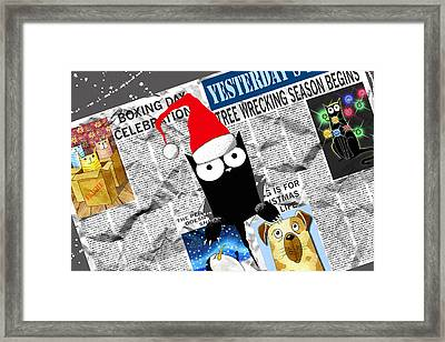 Christmas Special Framed Print by Andrew Hitchen