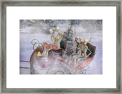 Christmas Spirits Heading To Topsail Island Nc Framed Print