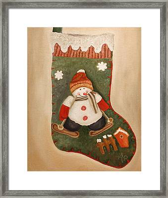 Christmas Stocking Framed Print