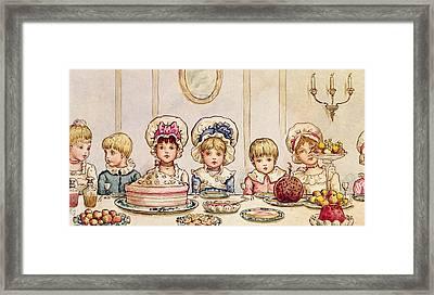 Christmas Supper Framed Print
