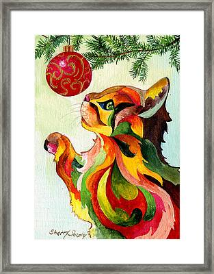 Christmas Tempation Framed Print