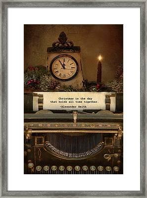 Christmas Time Framed Print by Robin-Lee Vieira