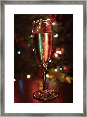 Christmas Toast Framed Print by Lauri Novak