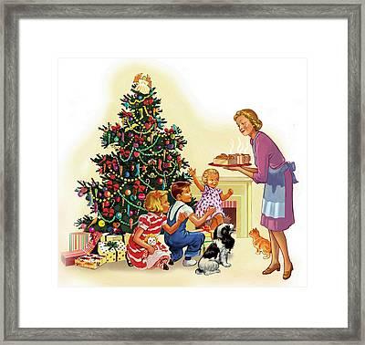 Christmas Treats Framed Print