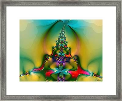 Christmas Tree Framed Print by Alexandru Bucovineanu