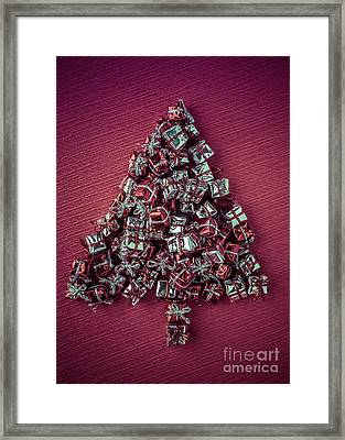 Christmas Tree  Framed Print by Edward Fielding
