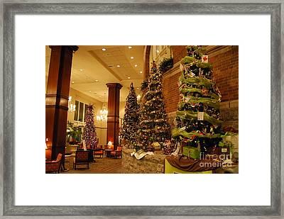 Christmas Tree Framed Print by Eric Liller
