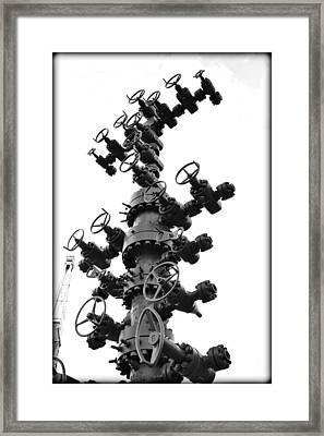 Christmas Tree II Framed Print by Ricky Barnard