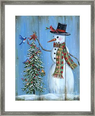 Christmas Tree Magic Framed Print