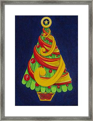 Christmas Tree No. Three Framed Print