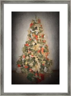 Christmas Tree Framed Print by Art Spectrum