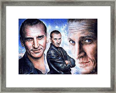 Christopher Eccleston Framed Print by Andrew Read