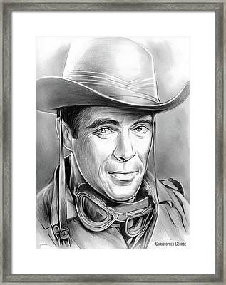 Christopher George Framed Print
