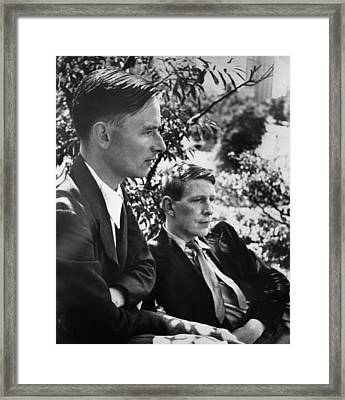 Christopher Isherwood, Novelist Framed Print