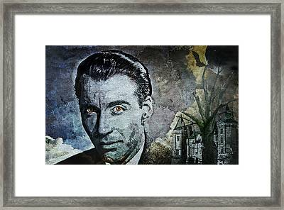 Christopher Lee Framed Print
