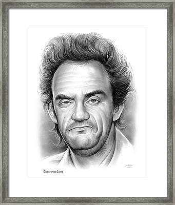 Christopher Lloyd Framed Print