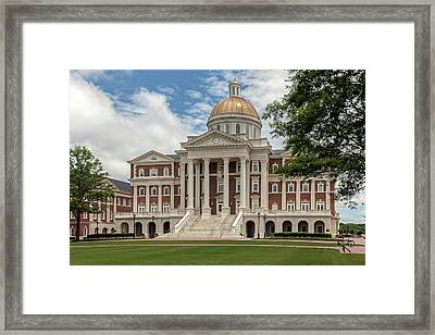 Christopher Newport Hall Framed Print