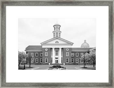 Christopher Newport University Trible Library Framed Print