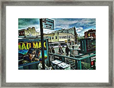 Framed Print featuring the photograph Christopher Street Greenwich Village  by Joan Reese