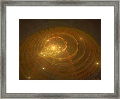 Christopher's Vision Framed Print by Michael Durst