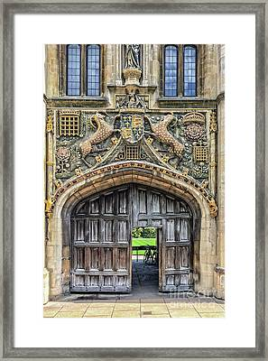 Christ's College Framed Print