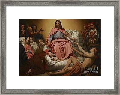 Christus Consolator Framed Print by Ary Scheffer