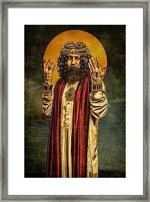 Christus Resurrexit Framed Print